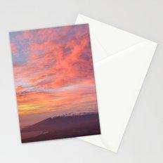 Haleakala Summit Sunset Stationery Cards