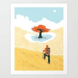 Finding Your Purpose Art Print