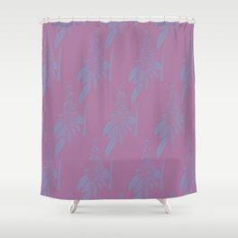 Blurred Flower Shower Curtain