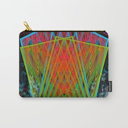A Psychedelic Hand of Cards Carry-All Pouch