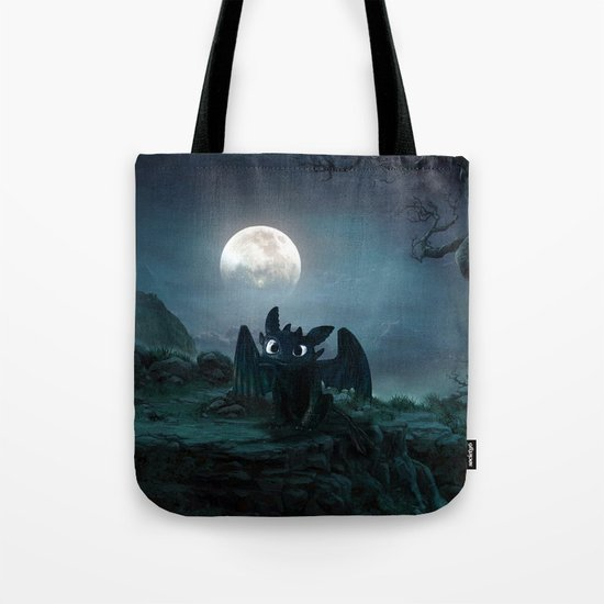 TOOTHLESS halloween Tote Bag