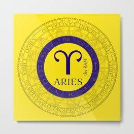 Aries March 21 To April 20 Metal Print