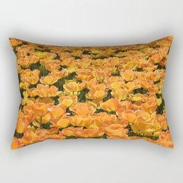 Holland- Tulip- Fields -Flowers Rectangular Pillow
