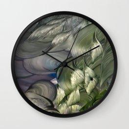 Uranus, Father of Zeus Wall Clock