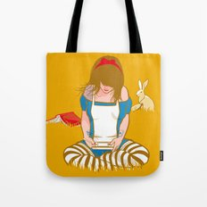 Alice in Mario Land Tote Bag