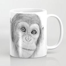 A Chimpanzee :: Not Monkeying Around Mug