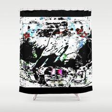 skate0107 Shower Curtain