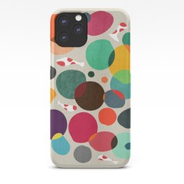 Lotus in koi pond iPhone Case