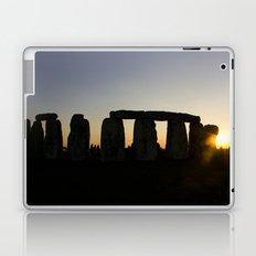 Stonehenge at Sunset Laptop & iPad Skin