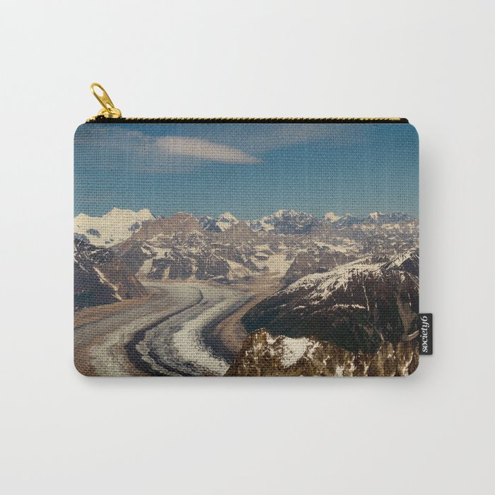 ALASKA I: Ruth Glacier beneath Denali ~ The Great One ~ Mt. McKinley Carry-All Pouch