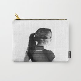 She was lost in her longing to understand. Carry-All Pouch