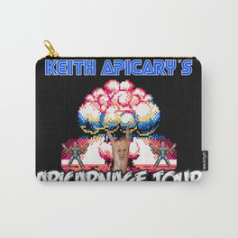 Keith Apicary Apicarnage Tour poster Carry-All Pouch