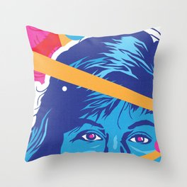 KELLY :: Memphis Design :: Saved By the Bell Series Throw Pillow