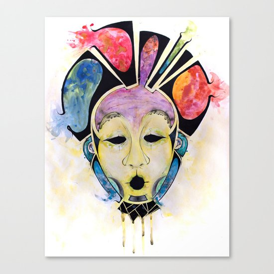 Veto's Mask Canvas Print