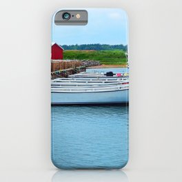 Lobster Boats and Traps iPhone Case