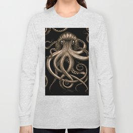 Bronze Kraken Long Sleeve T-shirt