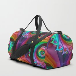 time to be crazy -b- Duffle Bag