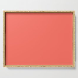 Pantone Color of the Year 2019 - Living Coral - Mix & Match with Simplicity fo Life Serving Tray