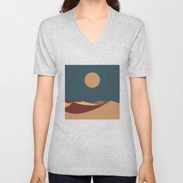 Desert Moon Unisex V-Neck