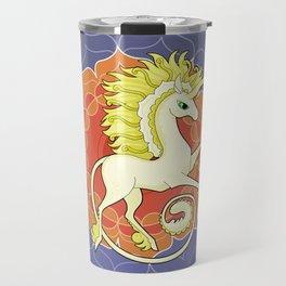 Vendel Unicorn - the sun Travel Mug