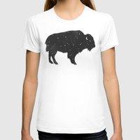 buffalo T-shirts featuring Mystic Buffalo  by Terry Fan