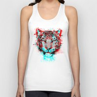 channel Tank Tops featuring Mushin Ire Channel Remix by Dinosir
