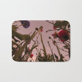 Wildflower Sunsets #4 Bath Mat