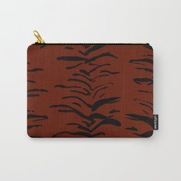 Tiger Skin Watercolor Pattern Carry-All Pouch
