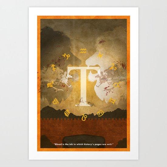 Vintage FF Poster: Final Fantasy Tactics Art Print