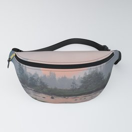 Yosemite Valley Sunrise Pretty Pink Fanny Pack