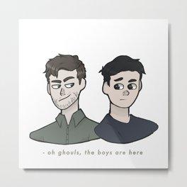 Ghoul Boys Metal Print
