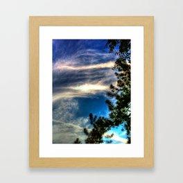 'Evening Sky' Framed Art Print