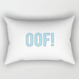 OOF! Rectangular Pillow