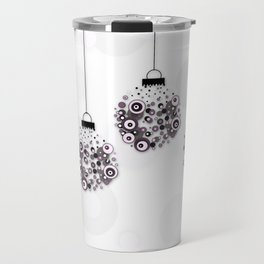 Modern Christmas balls CB Travel Mug