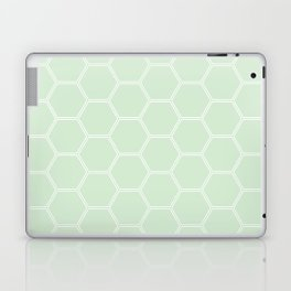 Honeycomb Light Green #273 Laptop & iPad Skin