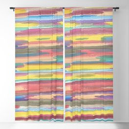 Rainbow Spectrum Blackout Curtain