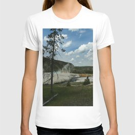 Firehole River And Geyser Area T-shirt