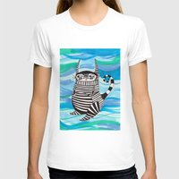 rubyetc T-shirts featuring stripy fella by rubyetc