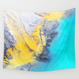 Yellow Wall Tapestry
