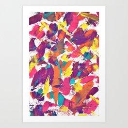 Tropical Sweeps Art Print