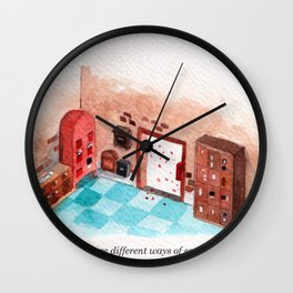 Letters Story Part 1/6: A post office to send love.  Wall Clock