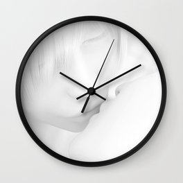 First Kiss Wall Clock