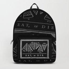 Eat, or Die (black) Backpack