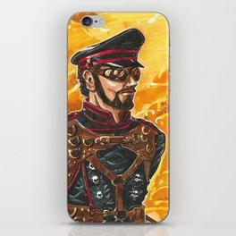 Captain Grimm iPhone Skin