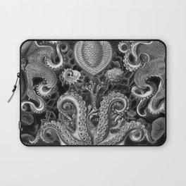 The Kraken (Black & White - No Text) Laptop Sleeve