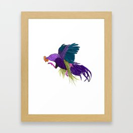 dont get cocky, kid Framed Art Print