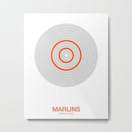 Miami rings Metal Print