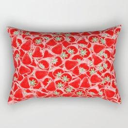 Strawberry Summer Rectangular Pillow