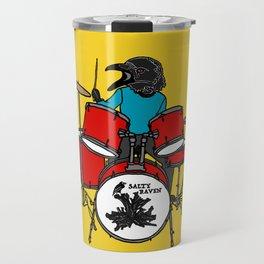 Salty Raven Drummer from Flock of Gerrys Travel Mug