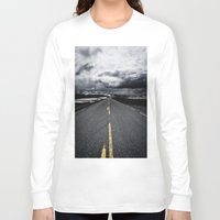 road Long Sleeve T-shirts featuring Road by Nick Verschoor